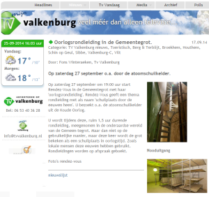 Artikel TV Valkenburg